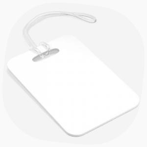 Bag tag print on demand