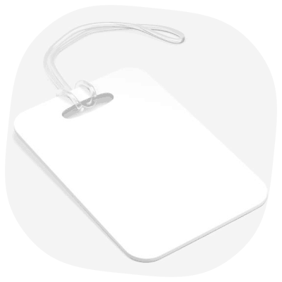 bag tag print on demand
