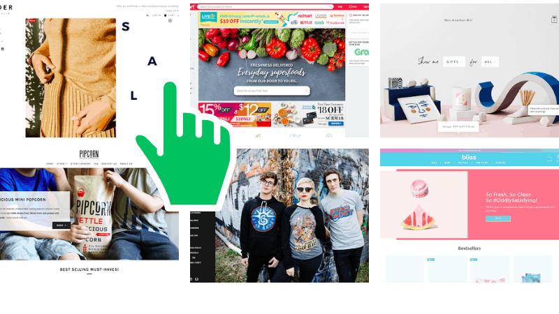 20 great examples of ecommerce shop designs that make money