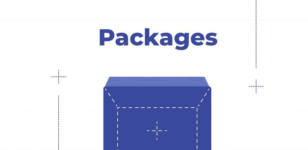 sticker and magnet packages