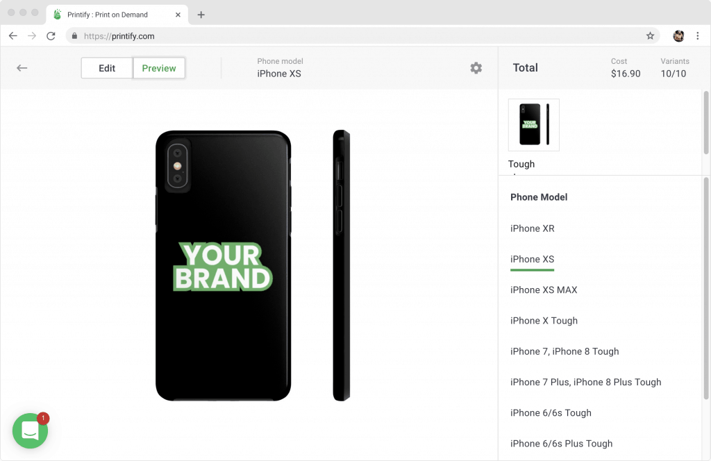 Printify Mockup Generator - Sell Custom Products with your