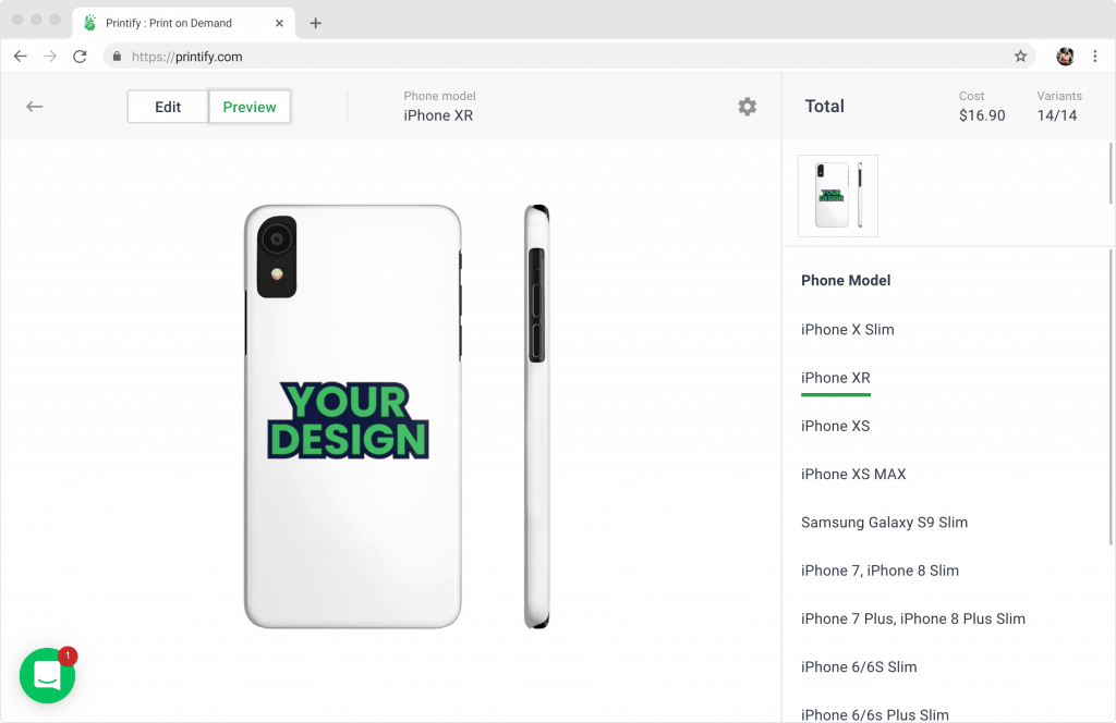 Custom phone case mockups