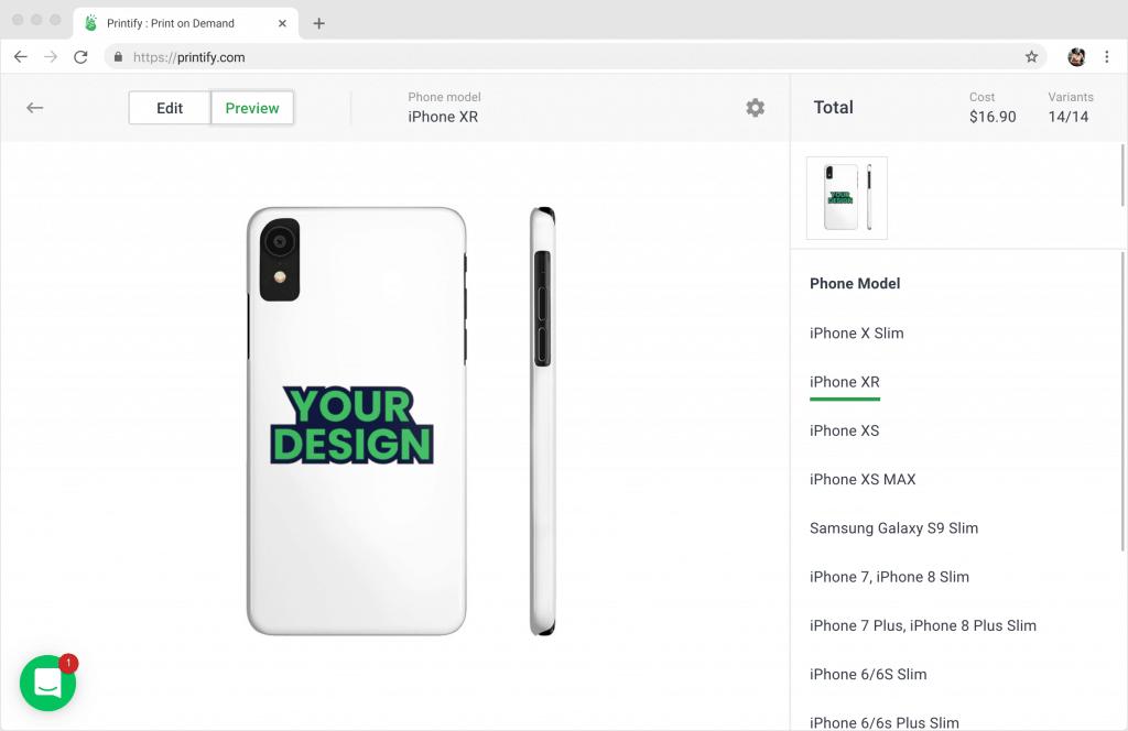 Printify Custom Phone Cases - Print on Demand Phone Cases