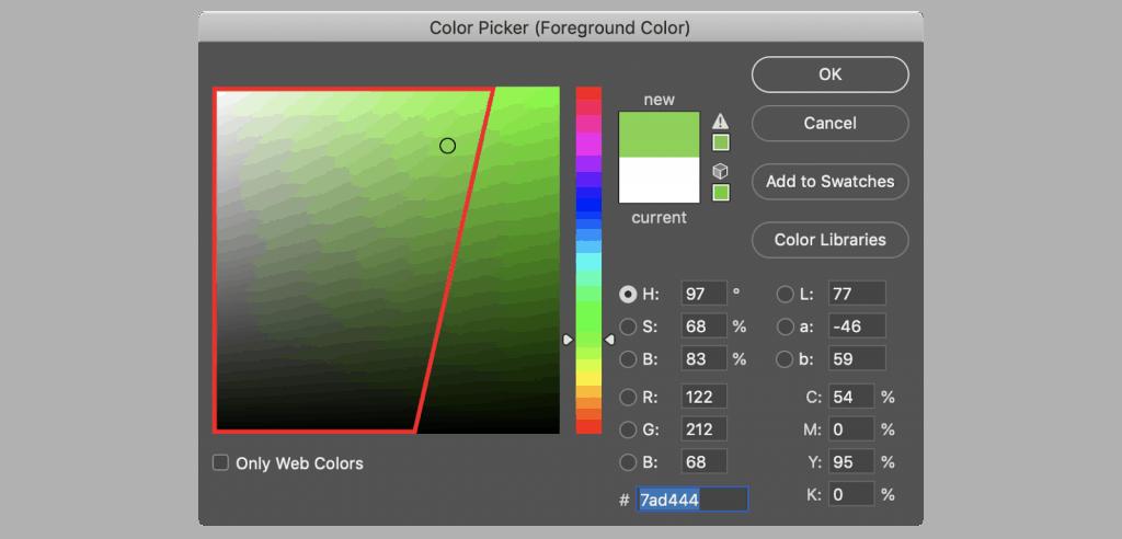 RGB-safe-spectrum