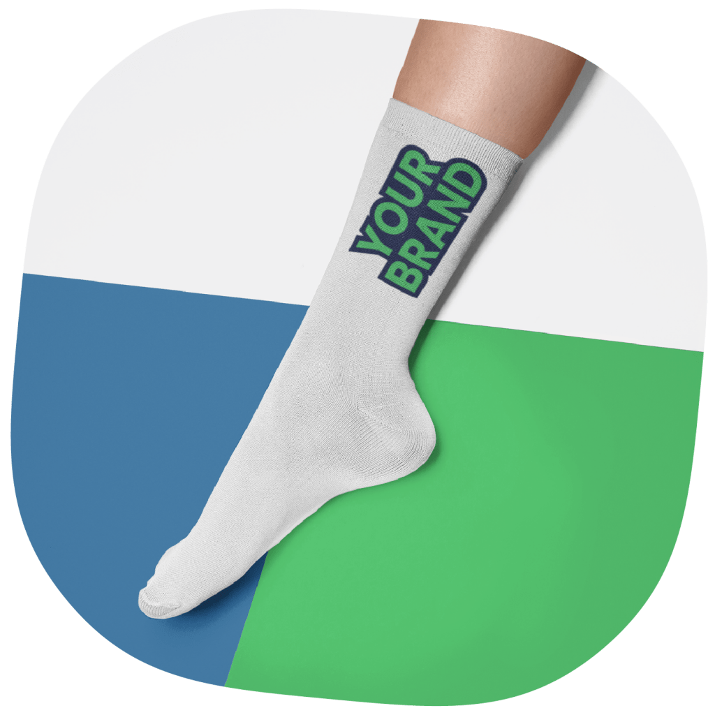 cheap print on demand products - socks
