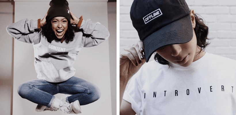 Youtuber Merch Liza Koshy Designs