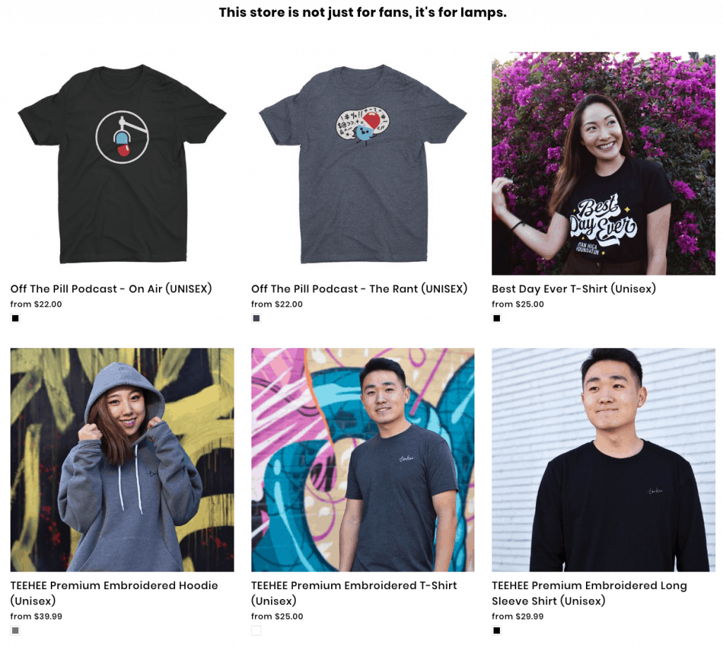 Youtuber Merch Ryan Higa