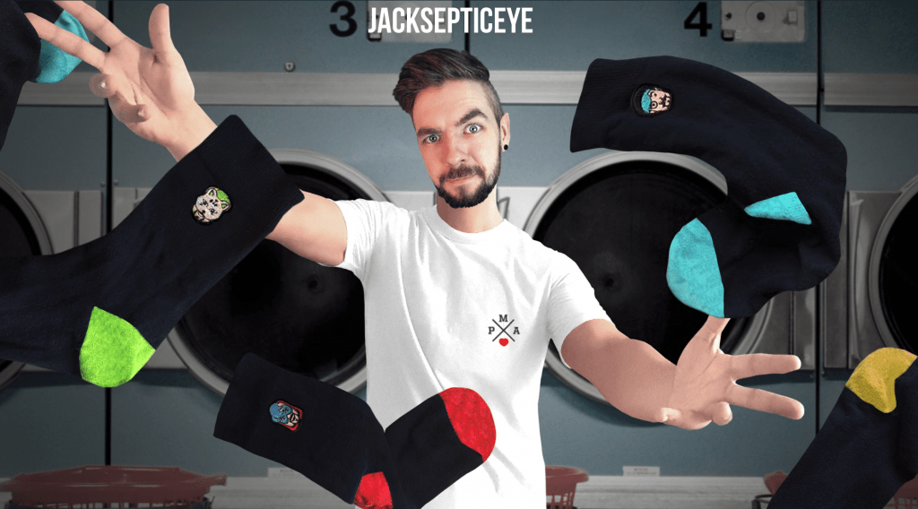 Youtuber Merch Jacksepticeye