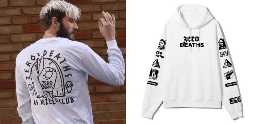 Youtuber Merch Pewdiepie