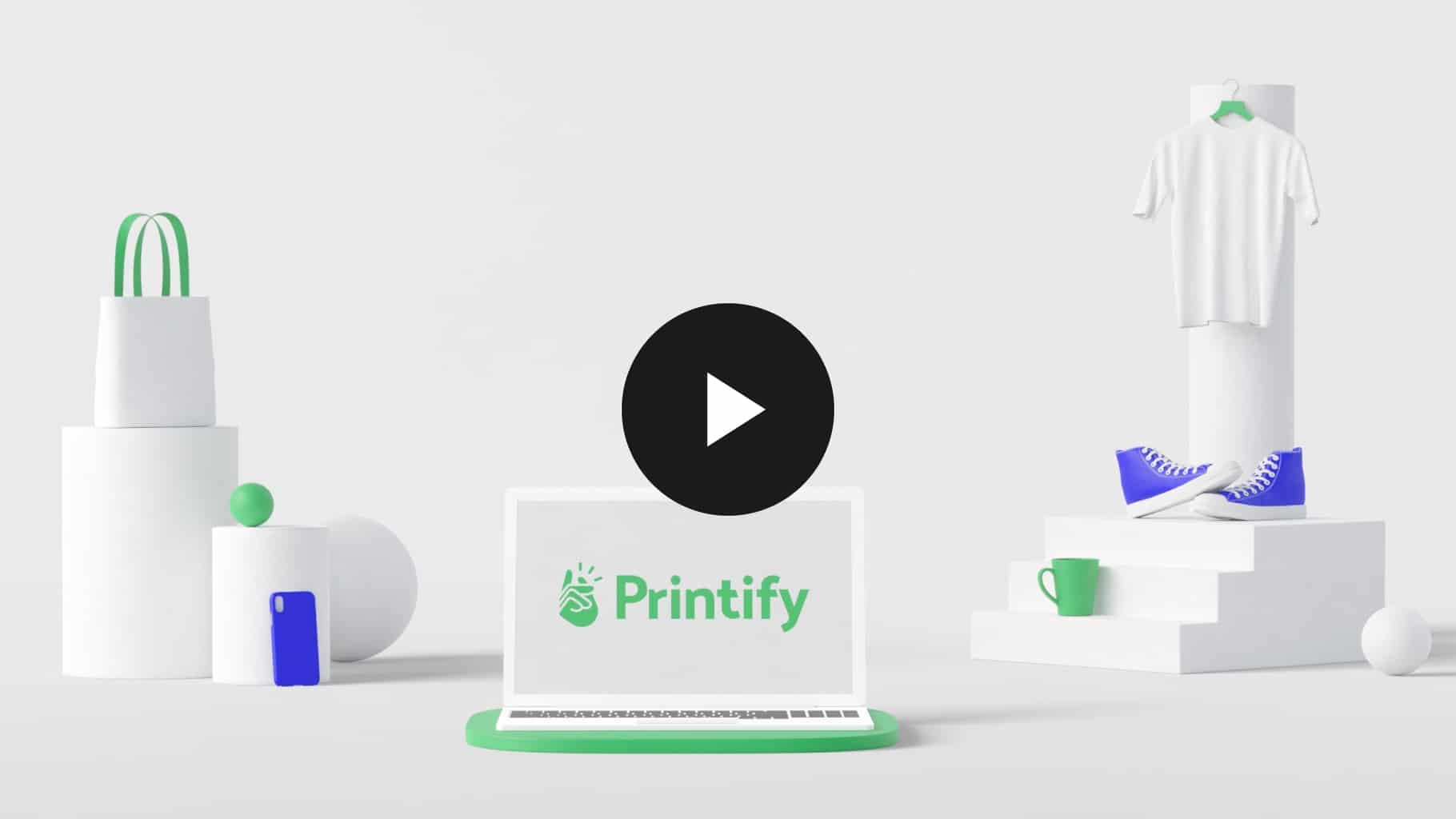 Printify drop shipping print on demand for ecommerce