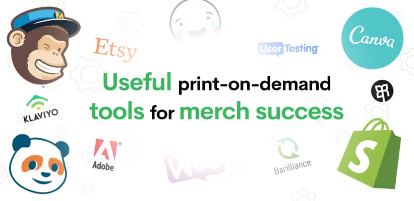 Useful print-on-demand tools for merch success