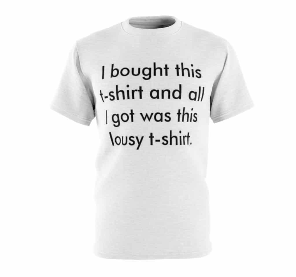 History of Bestselling statement T-shirts 10