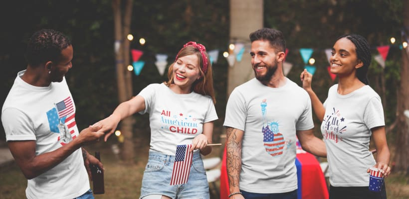 10 free 4th of July designs for your store