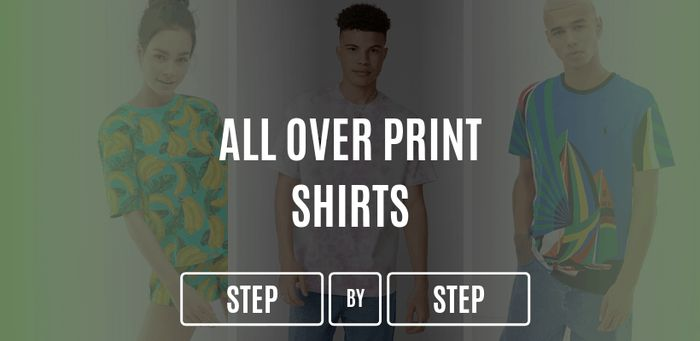 How To Make Custom All-Over-Print Shirts Guide