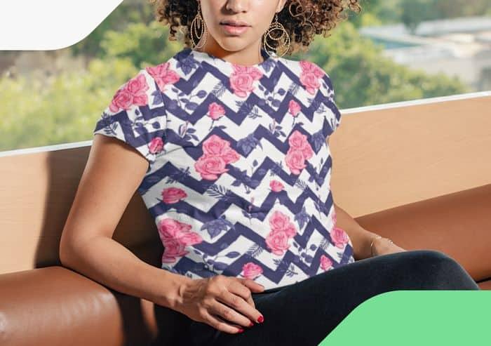 How To Make Custom All-Over-Print Shirts Womens