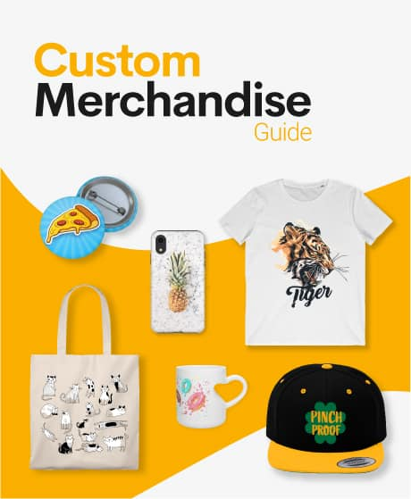Custom merchandise with no money upfront