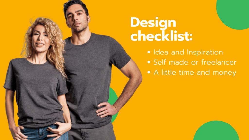 How do you make custom merchandise? 1