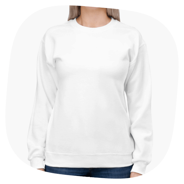 print on demand drop shipping products sweatshirt