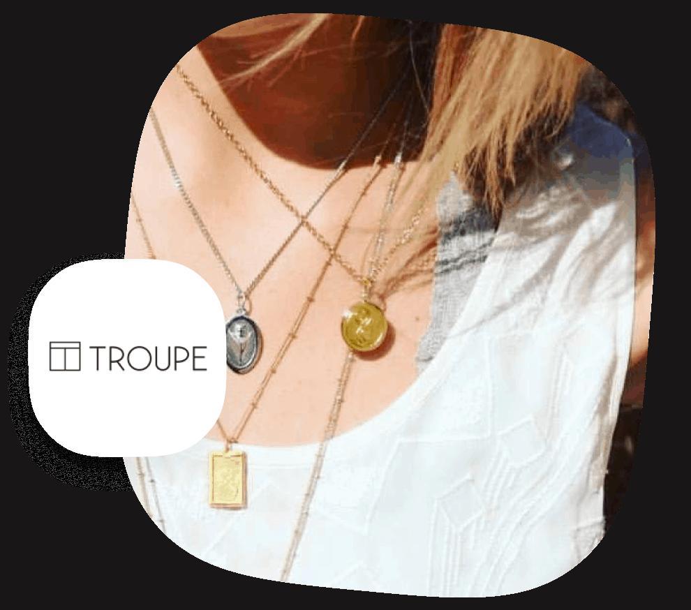 Troupe Jewelry Print Provider