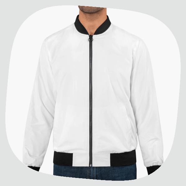 Custom all over print bomber jacket