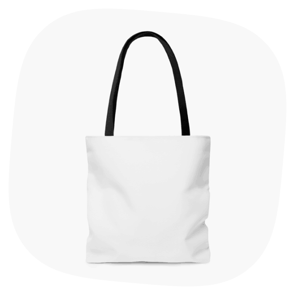 All-Over Printed Tote Bag 1