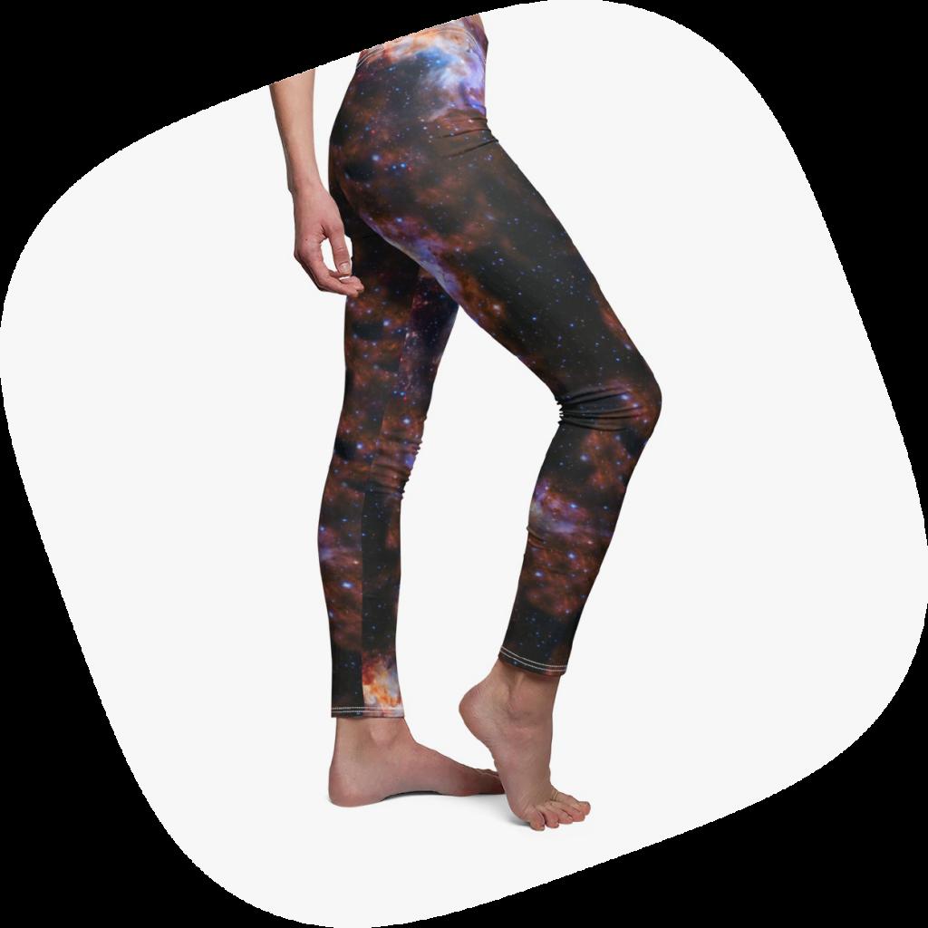 all over print leggings