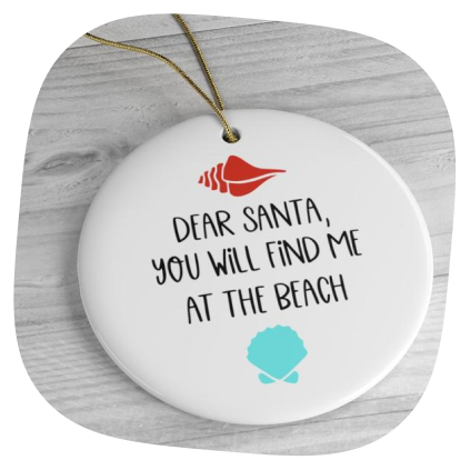 personalized ceramic ornaments