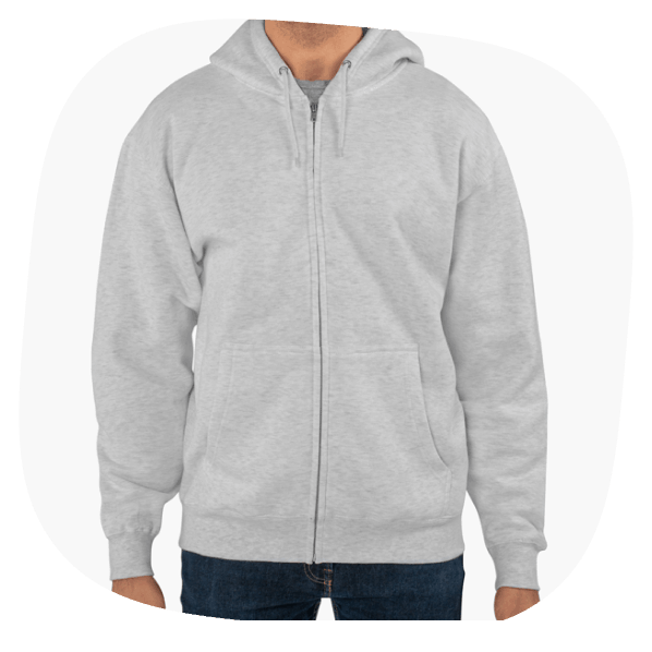 Lane Seven Unisex Premium Full-Zip Hoodie
