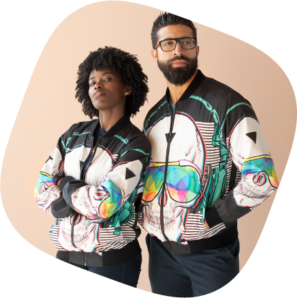 Custom jackets for couples
