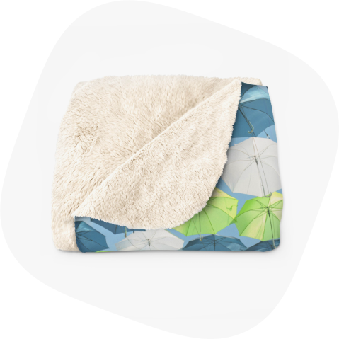custom blankets - products to sell from home