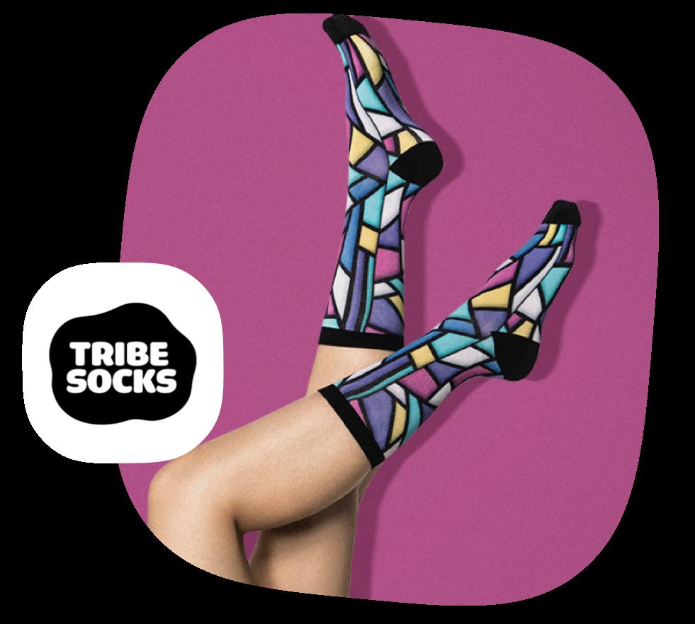 Tribe Socks Print Provider