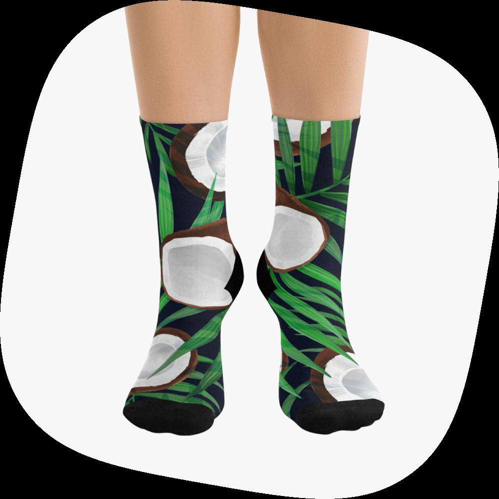 custom dtg socks