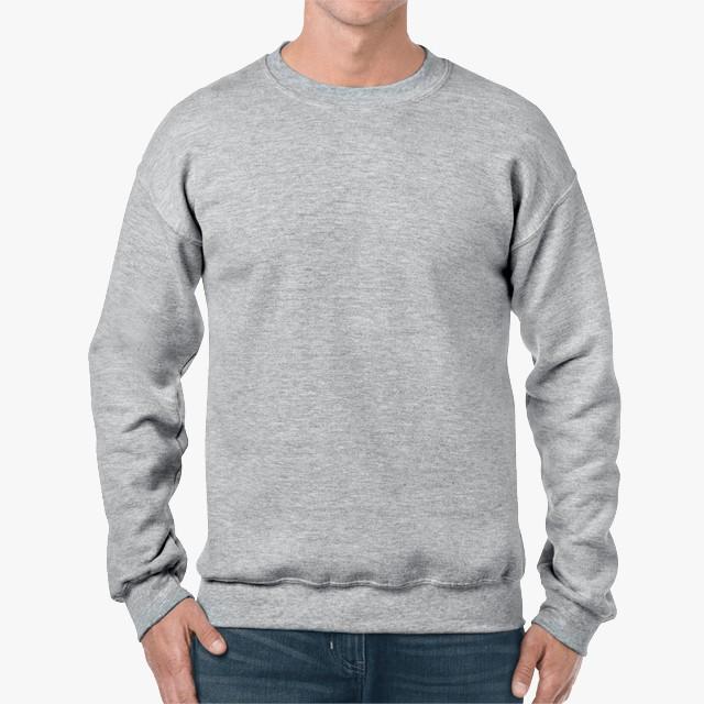 Gildan 18000 unisex heavy blend crewneck hoodie