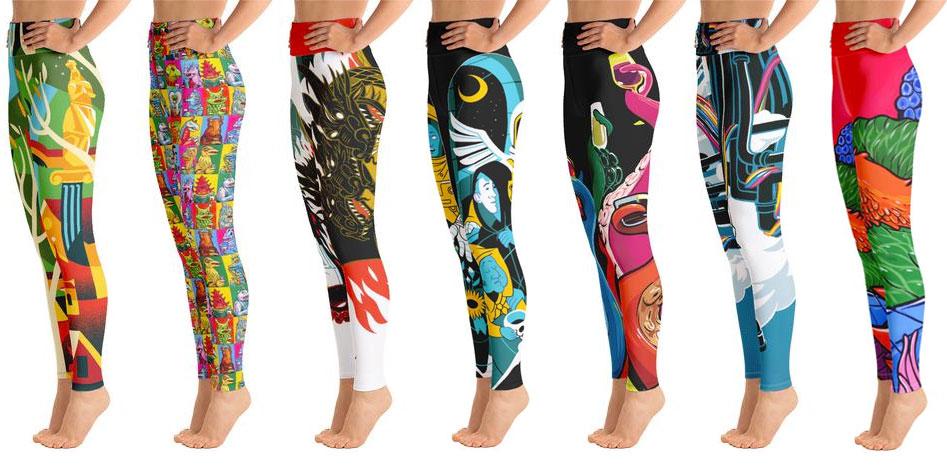Print on Demand leggings is the New Black 1