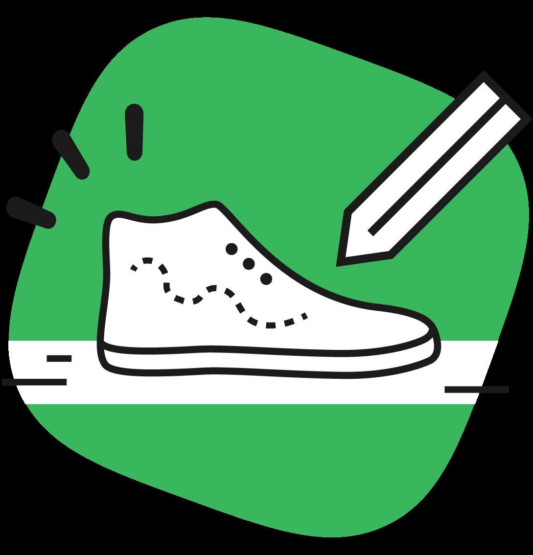 Custom shoes 34