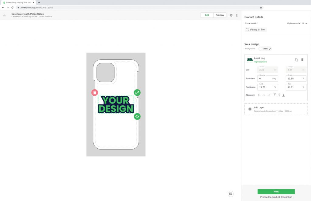 Custom Phone Case Mockup Generator