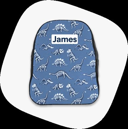custom backpacks for school