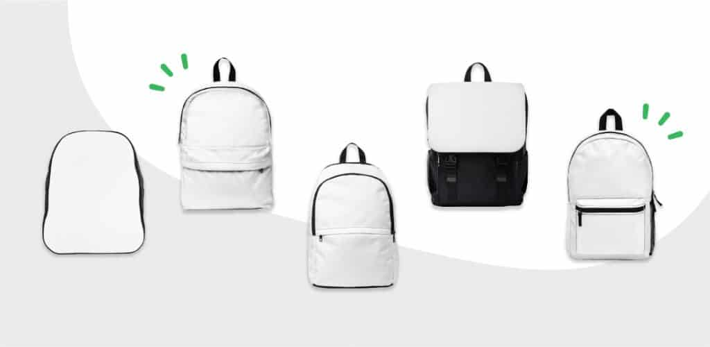 custom bacpacks printify