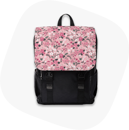 unisex casual shoulder backpack custom