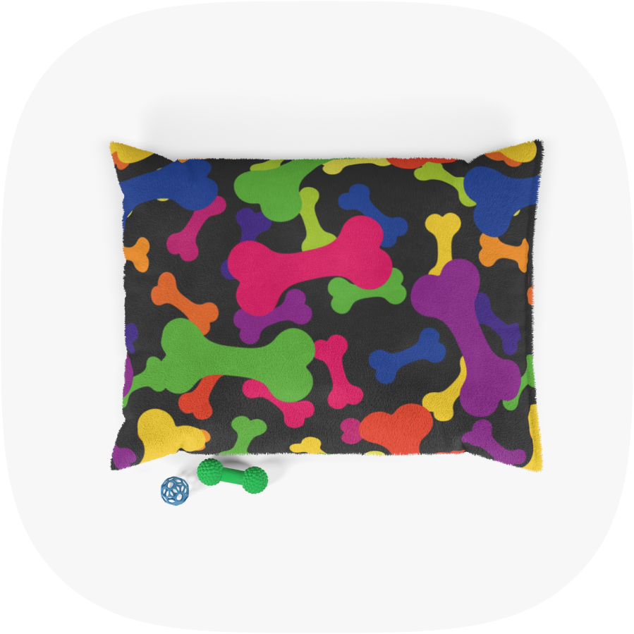 custom pillow pet bed