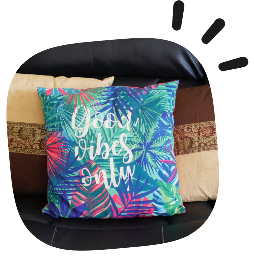 custom pillow with quote