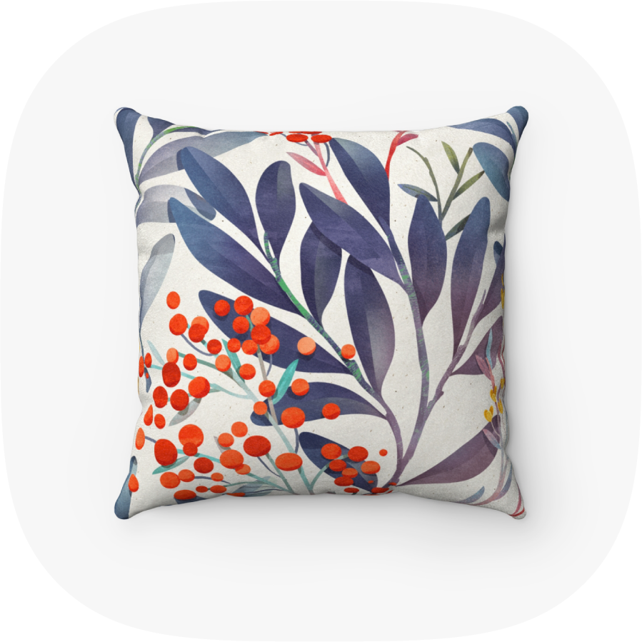 custom printed pillow