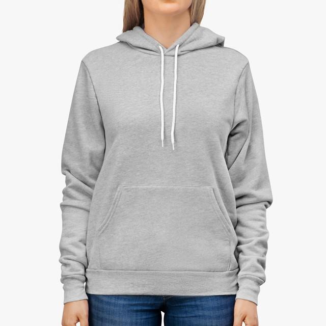 unisex sponge fleece pullover hoodie