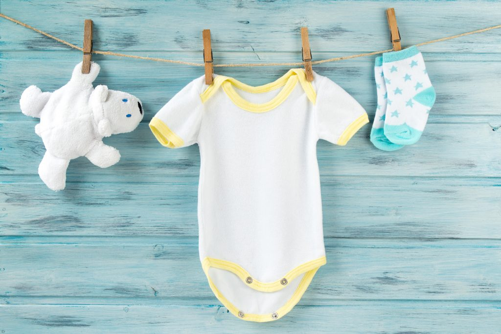 custom baby clothes set