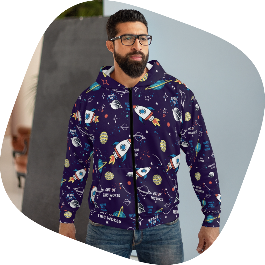 Galaxy Hoodie: Out of style or trendsetter? 2