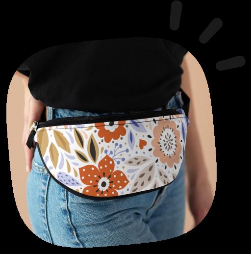 custom fanny pack