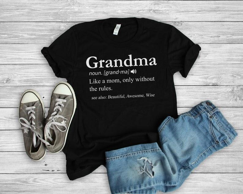 grandma t-shirt gift