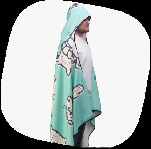 hooded blanket for ebay