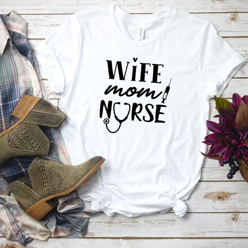 mom nurse shirt