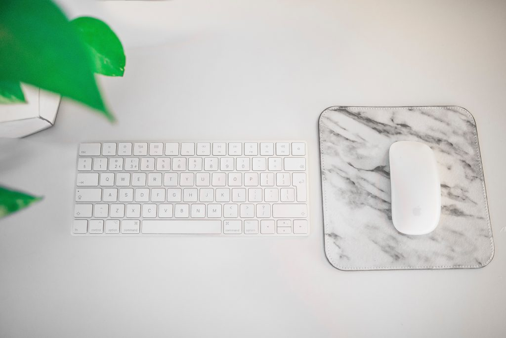 customized mouse pad marble design